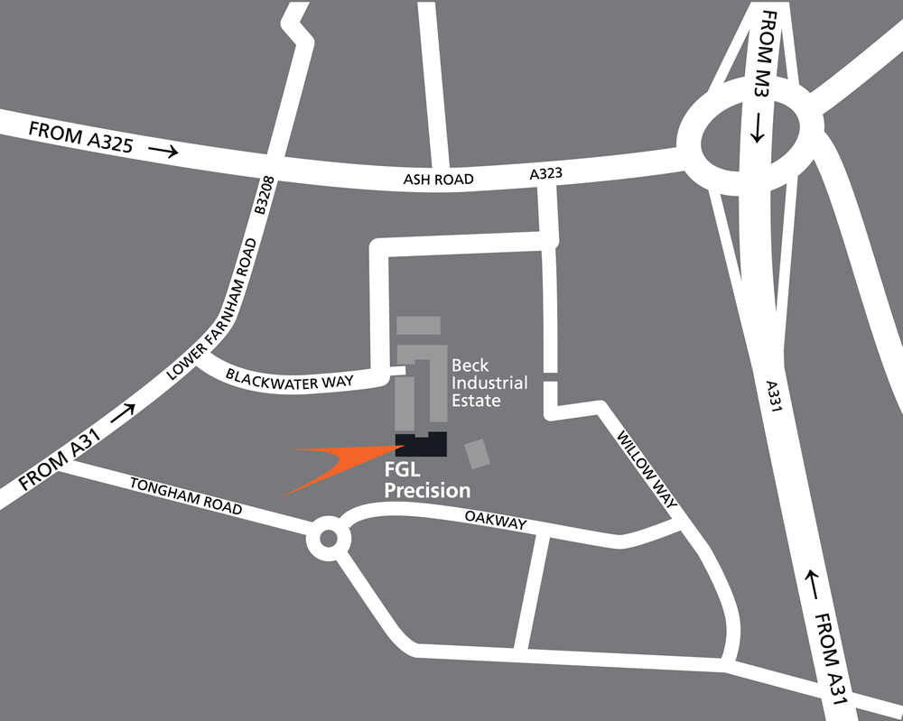 FGL Location Map